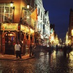 The Quays Bar in Temple Bar, Dublin 1.