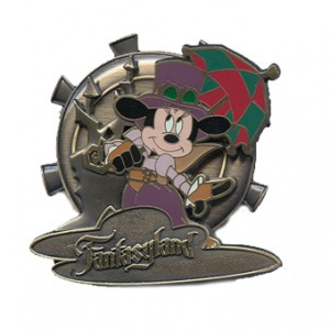 Steampunk Mickey Mouse Pin