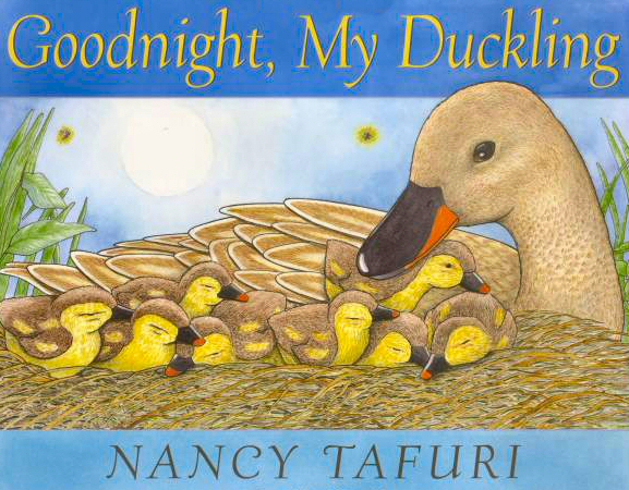 "Book Cover of ""Goodnight My Duckling"""