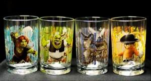 McDonald's Shrek Glasses