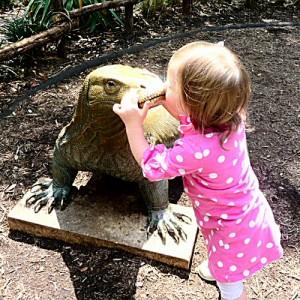 Baby Kisses Iguana