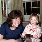 My wife as a baby with her mother
