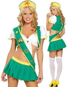 Innapropriate Girl Scout Costume