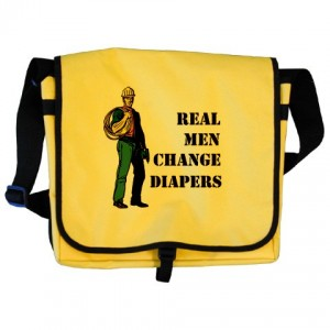 Real Men Change Diapers Bag