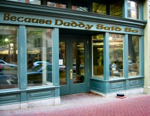 Becuase Daddy Said So's Storefront