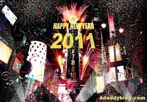 Happy New Year 2011 - from adaddyblog.com