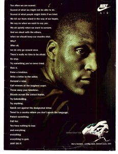 Barry Sanders Nike Ad - Just Do It!