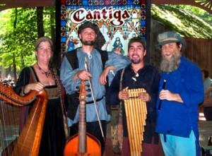 musicians at scarborough fair