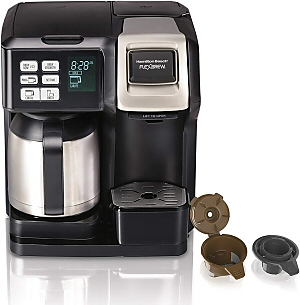 Hamilton Beach FlexBrew Thermal Coffee Maker Single Serve & Full Pot