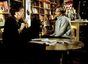 Meg Ryan as Kathleen Kelly in the film You've Got Mail