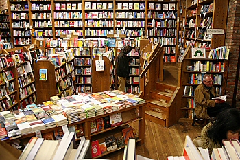The Elliott Bay Book Company in Seattle, WA