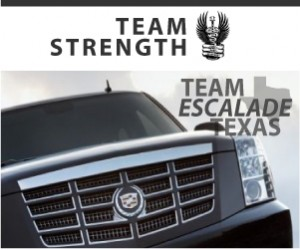 Team Escalade - Vote for Team Strength - Music-centric cancer charity save lives one concert at a time