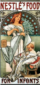 Nestlé's Food for Infants Alphonse Maria Mucha Poster