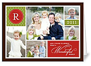 shutterfly custom photo christmas card - Christmas Card Closings