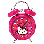 Hot Pink Hello Kitty Retro Girl's Alarm Clock
