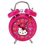 Hot Pink Hello Kitty Retro Girl's Alarm Clock