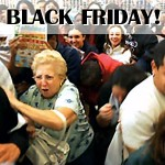 Crazy Black Friday Shoppers Trampling Each Other