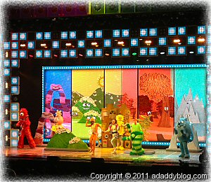 Yo Gabba Gabba Live - Dallas 2011 - Daddy Daughter Concert