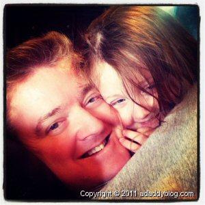 Sample instagr.am photo - Daddy & Daughter Cuddling