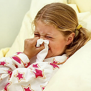 There's nothing worse than a child with a cold or flu
