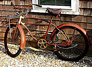 Rusty old bike