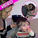 Video of Alicia Silverstone spitting food in her baby boy's mouth like he was a bird!