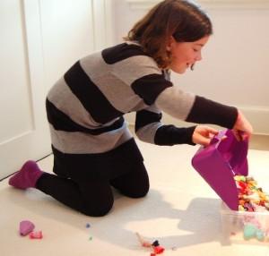 Purple Toydozer in Action