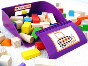 Purple Toydozer - Toy cleanup made easy and fun!