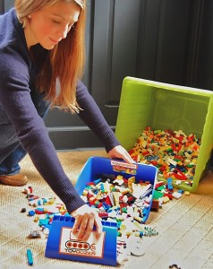 The Toydozer makes toy pick up easy and fun!