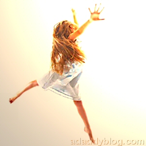 Photo of a Young Girl Dancing - I Hope You Dance