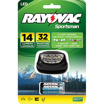 Rayovac 5 LED 3AAA Headlight