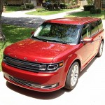 Red 2013 Ford Flex with EcoBoost - Family Car Review