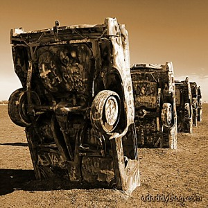 Cadillac Ranch, Old Route 66, Texas