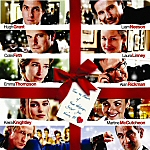 DVD Cover for Love Actually Featuring Hugh Grant, Liam Neeson, Colin Firth, Laura Linney, Emma Thompson, Alan Rickman, Keira Knightley, Bill Nighy, Rowan Atkinson & Martin Freeman