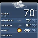iPhone Weather: Cloudy With a Chance of Apocolypse