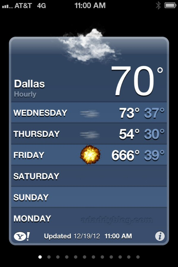 Good Weather App For Iphone