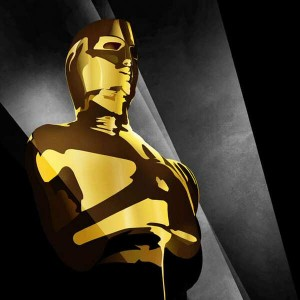Graphic of the Academy Awards 2012 Oscar Statue