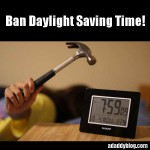 Ban Daylight Saving Time!