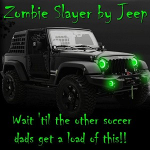 Picture of the Zombie Slayer Jeep ZS1 – Because the Zombie Apocalypse is no Time to Drive a Prius (from adaddyblog.com)