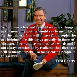 Mr Fred Rogers on Scary Things in the News