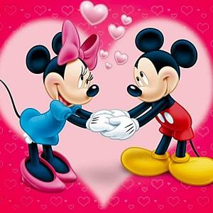 Mickey & Minnie Mouse - Disney Love