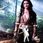 Once Upon a Time in Wonderland Snow White and White Rabbit Blooper