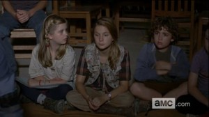 Walking Dead Season 4 Pre-teen Zombie Bait