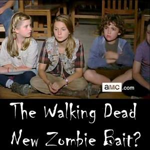 Walking Dead Season 4 Premiere - New Zombie Bait