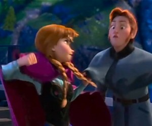 Princess Anna Punches True Love in the Face - Disney Oscar Nominated Animated Film Frozen