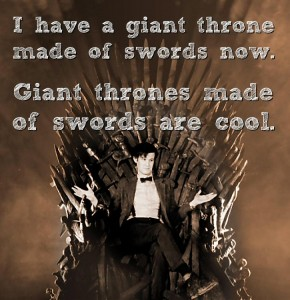 Doctor Who Throne of Swords Mashup