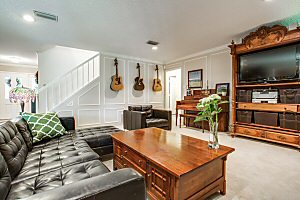 Our living room - View our entire Arlington Texas home listing here