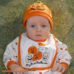 Our Pumpkin on Halloween 2008