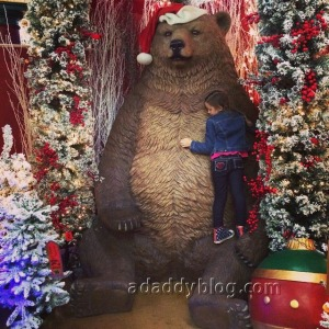 A Christmas Bear Hug!