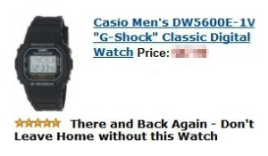 My review of the Casio G-Shock Watch - NOT Sponsored